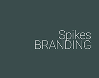 Spikes Security Branding Design