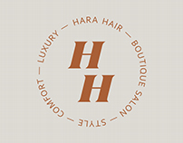 Hara Hair — Boutique salon branding