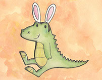 Gonzo the Bunny Crocodile