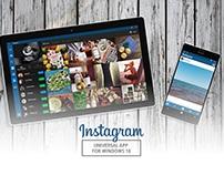 Instagram Universal App for Windows 10