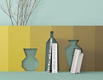 """Memory"" vases"