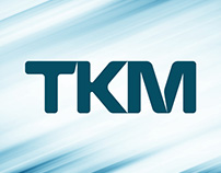 Logo and website for TKM