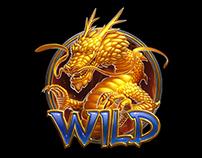 Dragon and Phoenix spine animation