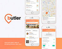 Butler - Mobile App Design