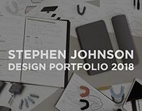 Stephen Johnson   Design Portfolio 2018