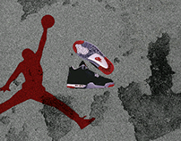 Air Jordan 4 Advertising 1989 (Remake)
