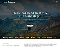 Technialabs Website Redesign Concept