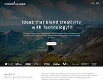 Technialabs Website Redesign Concept