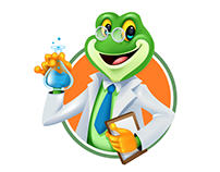 Frog Doctor Character
