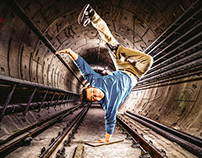Breakdance Fotoshooting Bremerhaven