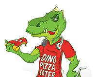 DinoPizzaEater Mascotte
