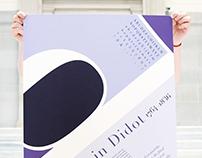 Typographers Poster | Typography I