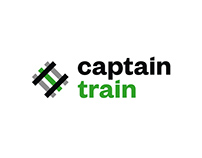 Captain Train - Brand Identity