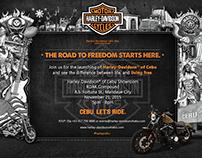 Harley-Davidson Motorcycles Invitation