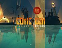 UI/UX design Comic Con Ukraine