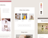 Rose Collection E-mail Template