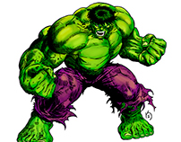 Hulk Invencible (Color)