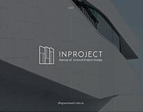 Фирменный стиль для архитектурного бюро INPROJECT