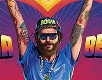 JOVA BEACH PARTY- Poster
