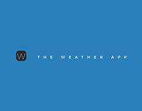The Weather App UI Design