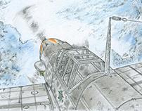 Messerschmitt Bf 109 airplanes