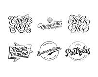 Lettering Logos Collection