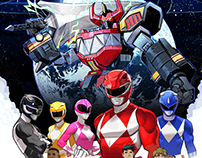 POWER RANGERS BOOM studios