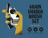 The Grain Shader Brush Set