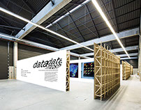 'dataMOSH' Exhibition & Art Catalogue Design