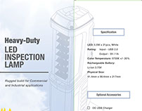 Inspection Lamp Box