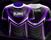 Blank eSports Jersey Design