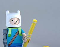 LEGO Farmworld Finn minifig