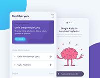 Meditation Mobile App - Dingin Kafa