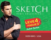 Campanha Natal 2017 - Sketch Men's Collection