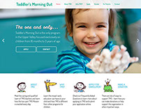 Toddlers Morning Out, Website Design and Development,