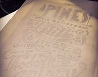Fun With Lettering