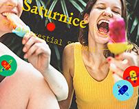 SATURNiCE   Ice Cream Van Branding