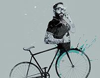 David Despau / Poster / In Bicycle We Trust / Madrid