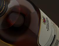 Golden MonarchWhisky - Packaging Design  & Branding