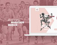 Marathon Munich 2018 . Generali