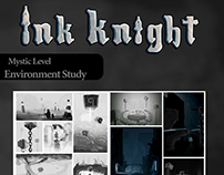 Ink Knight Environment Thumbnails