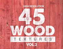 45 Wood Textures vol.2