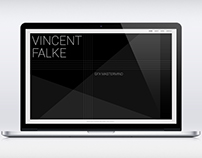 Vincent Falke Website Concept