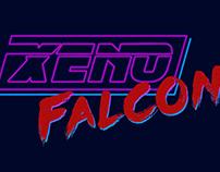 80s Xeno Falcon Title