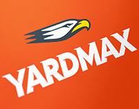 Yardmax Logo & Identity