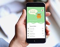 Children's allowance card + App