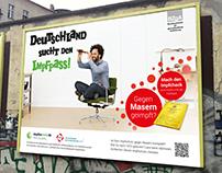 """Kampagne """"Deutschland sucht den Impfpass"""""""