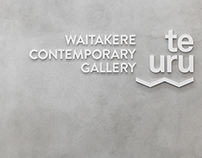 Te Uru | Brand Identity