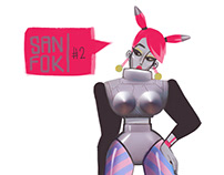 Sanfok's various character designs