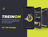 TREINON - UI / UX Design
